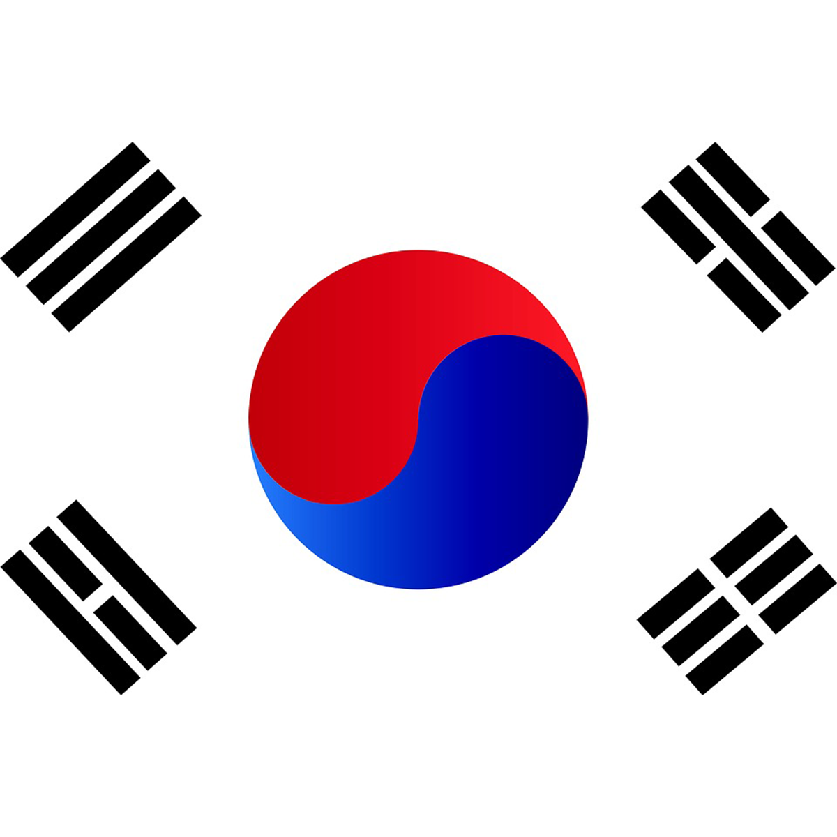 Картинки корейского флага
