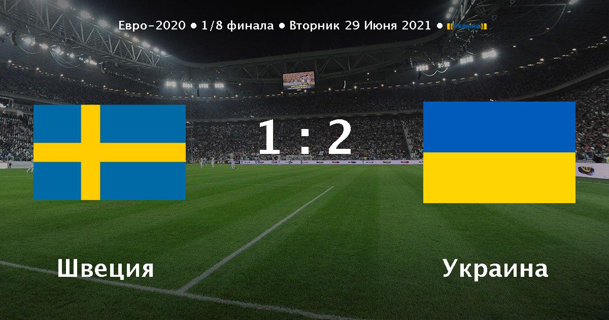 Швеция - Украина анонс и прогноз матча - 29.06.2021 - Футбол 24