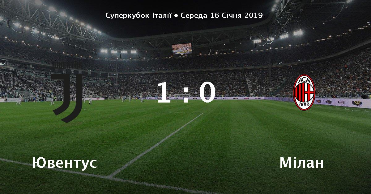 Матч Ювентус - Мілан   онлайн cfb7674411c09