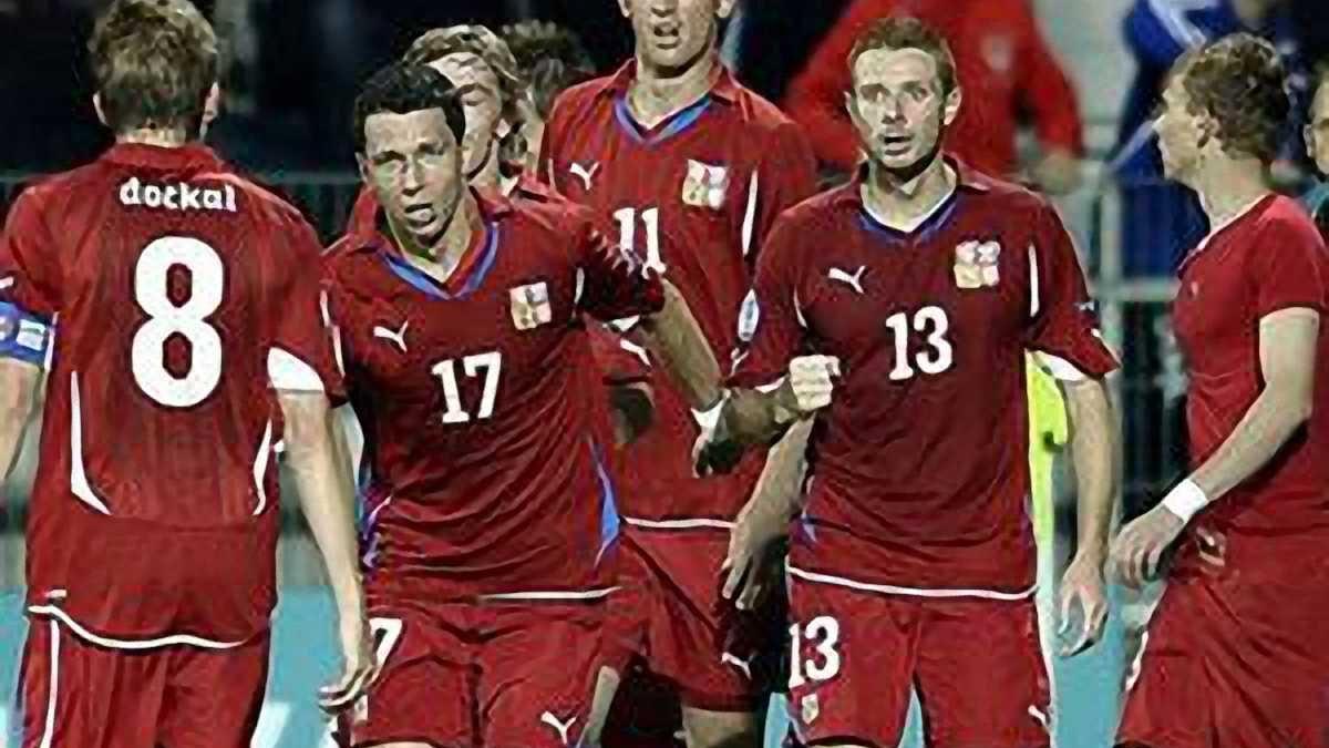 Англія - Чехія - 1:2. ВІДЕО. ФОТО