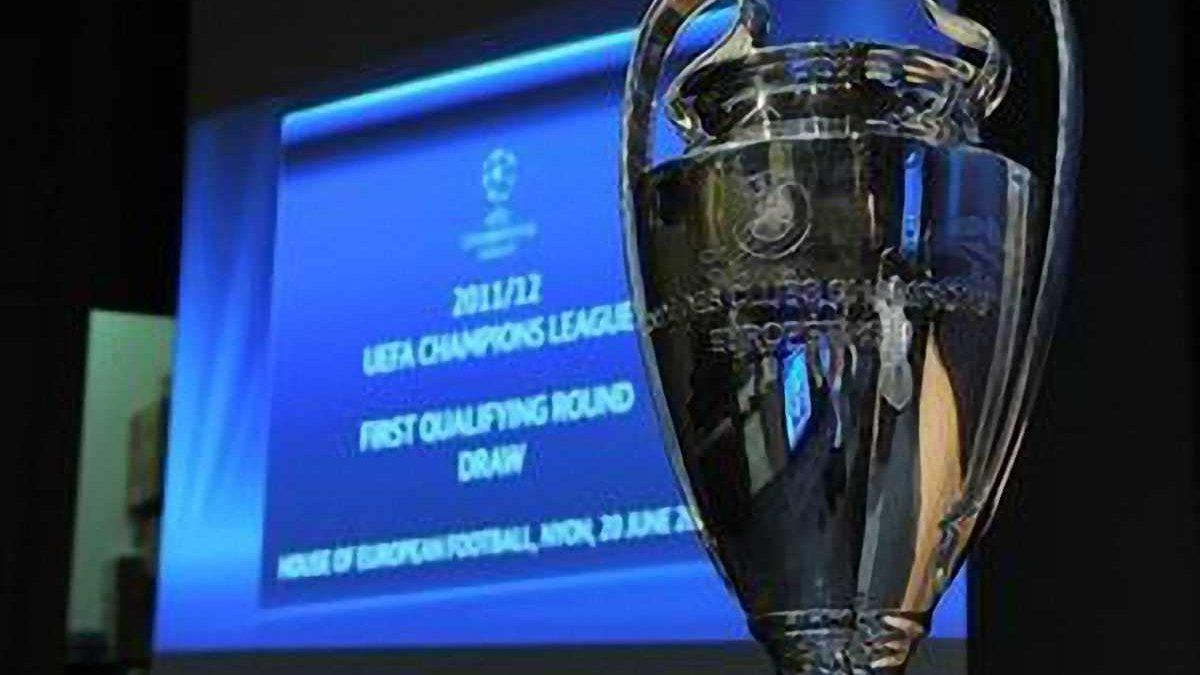 Результаты жеребьевки 1 и 2 раундов Лиги чемпионов