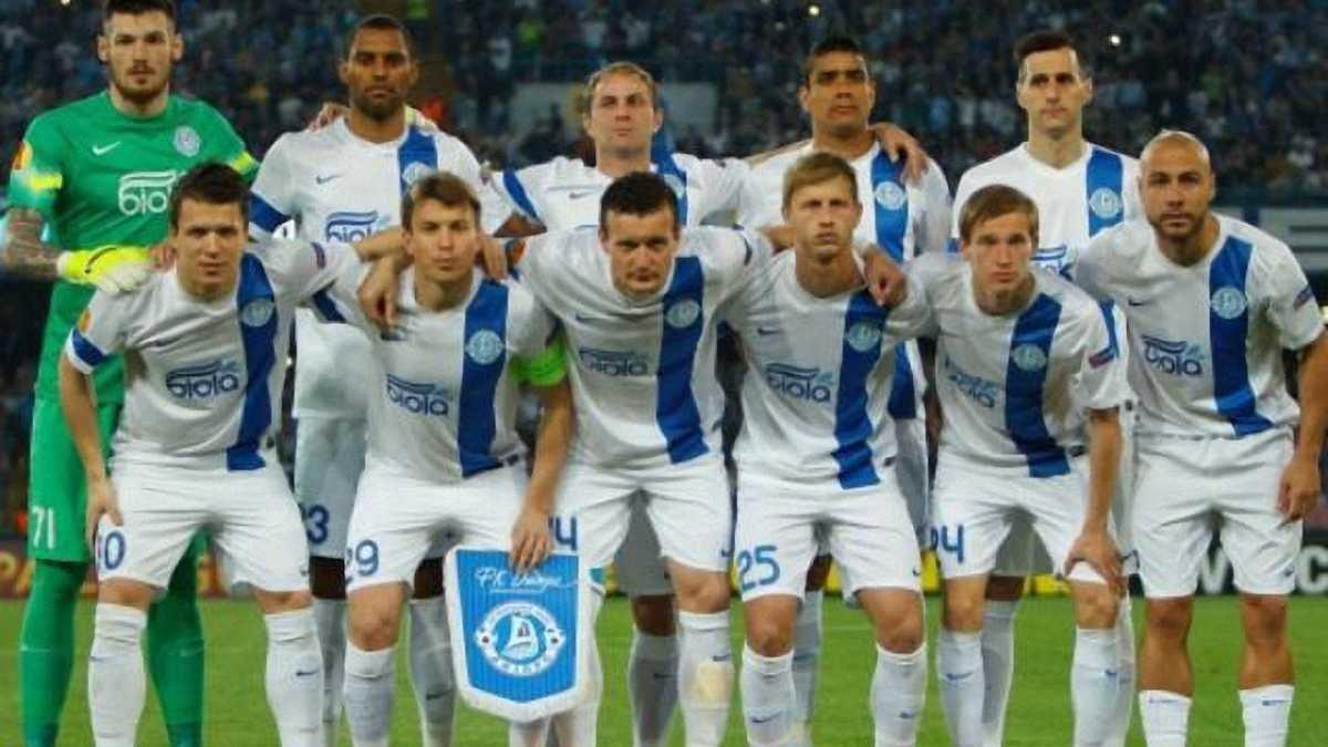 """Четверо гравців """"Дніпра"""" потрапили у збірну півфіналів Ліги Європи"""