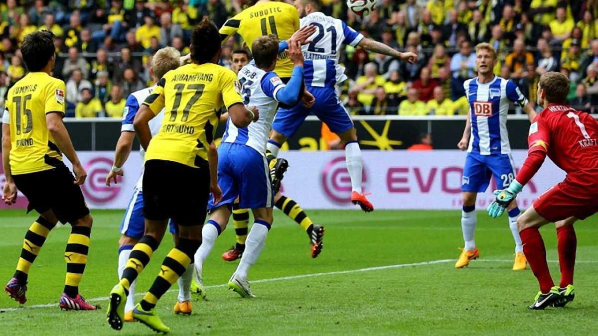 """""""Баварія"""" програє вдома, а Гладбах розбиває """"Байєр"""" і - другий. Результати 32 Бундестуру (ВІДЕО)"""