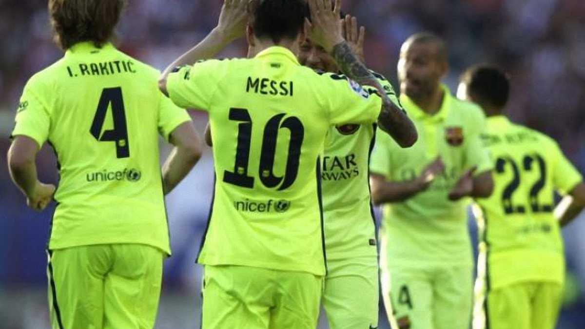 """Месси приносит чемпионство! """"Атлетико"""" - """"Барселона"""" - 0:1"""