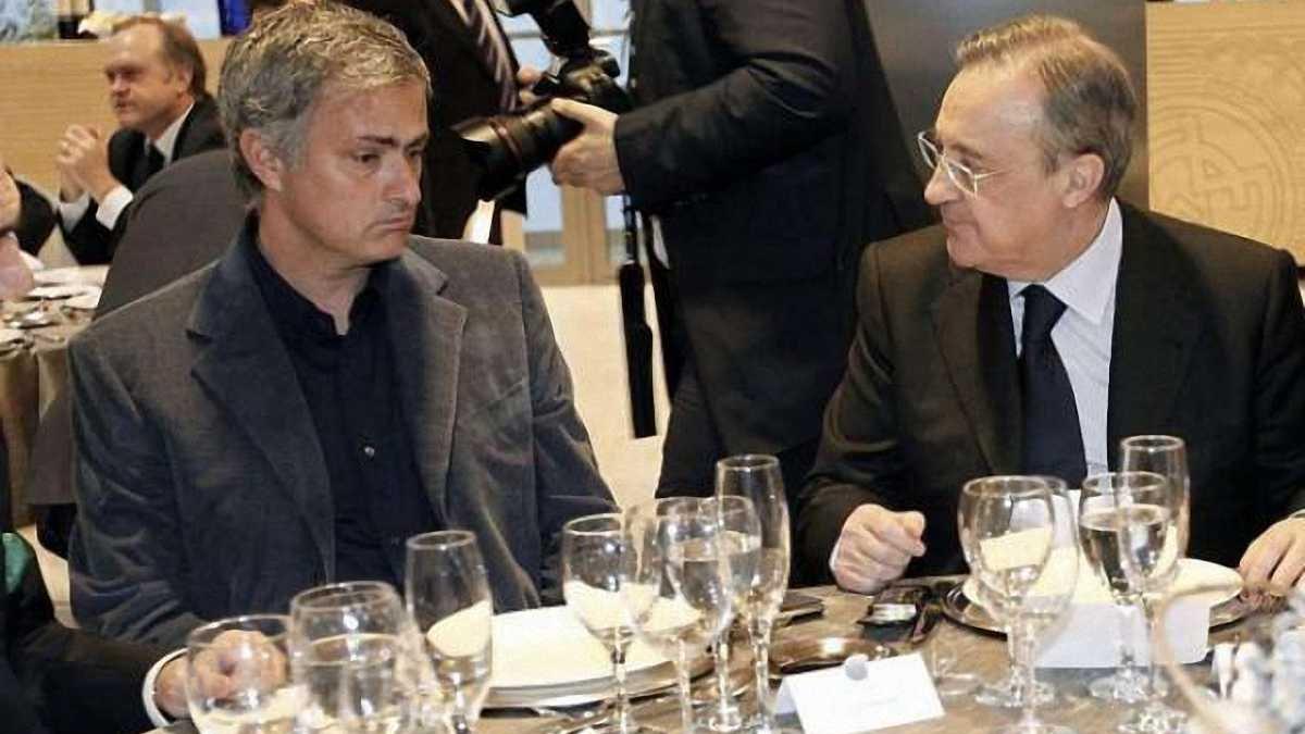 """Моурінью відмовився повернутись у """"Реал"""""""