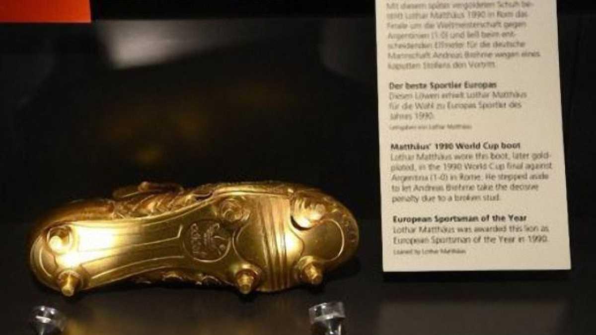 """Маттеус вимагає повернути його """"Золоту бутсу"""" з музею """"Баварії"""""""