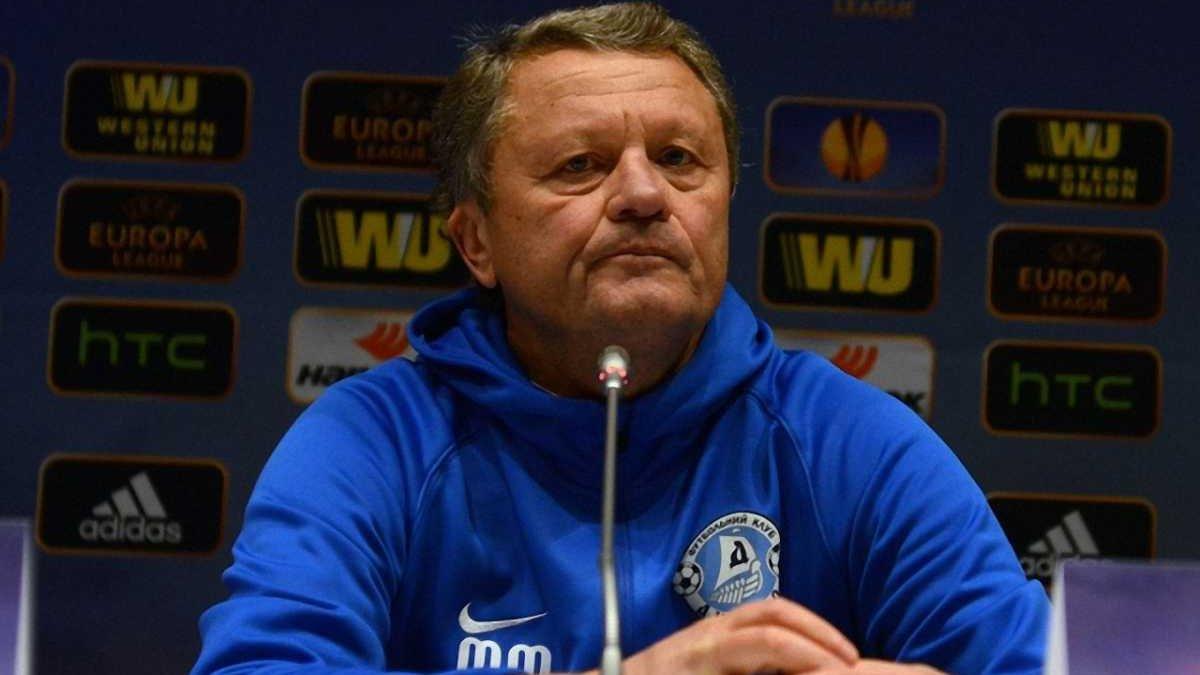 Маркевич: Доказали Европе, что несмотря на все сложности, футбол в нашей стране живой