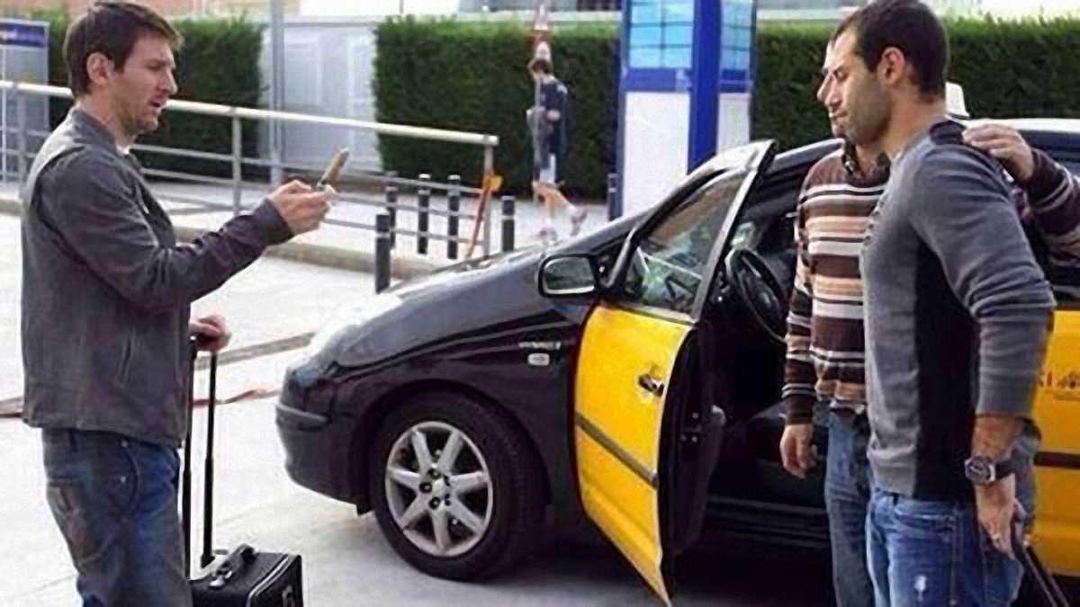 Фанат попросив Мессі сфотографувати його з Маскерано (ФОТО)