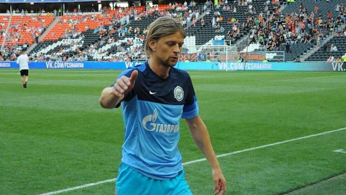 Тимощук зіграв сто матчів у чемпіонаті Росії