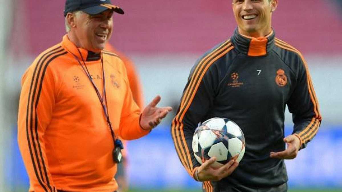 Роналду надеется работать с Анчелотти в следующем сезоне