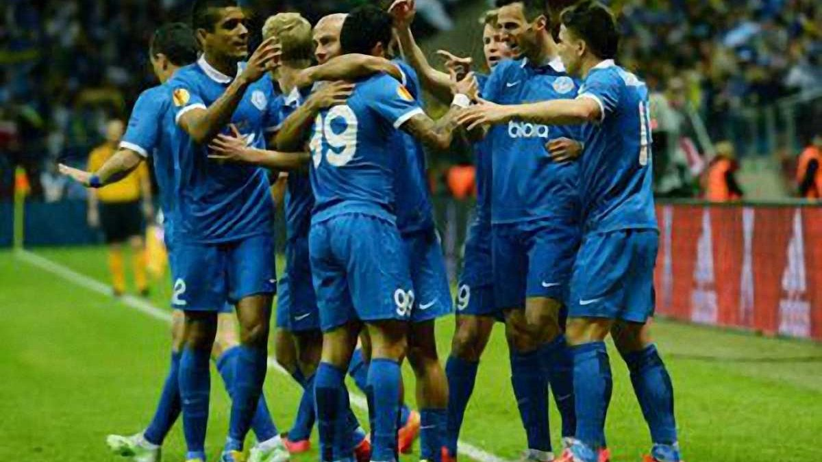 Україна фінішувала восьмою у рейтингу національних асоціацій УЄФА
