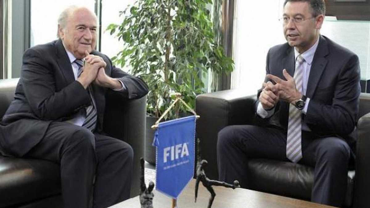 """Офіційно: ФІФА не амністує """"Барселону"""""""