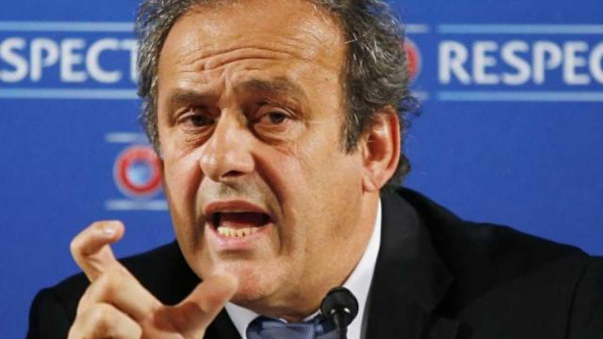 Платіні: Питання виходу УЄФА з ФІФА обговоримо у день фіналу Ліги чемпіонів