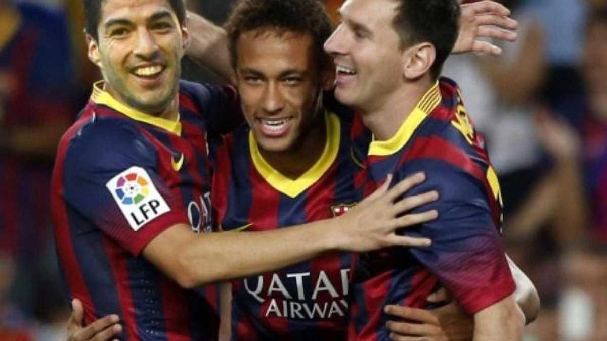 Ударное трио Месси-Суарес-Неймар - лучшее в истории испанского футбола