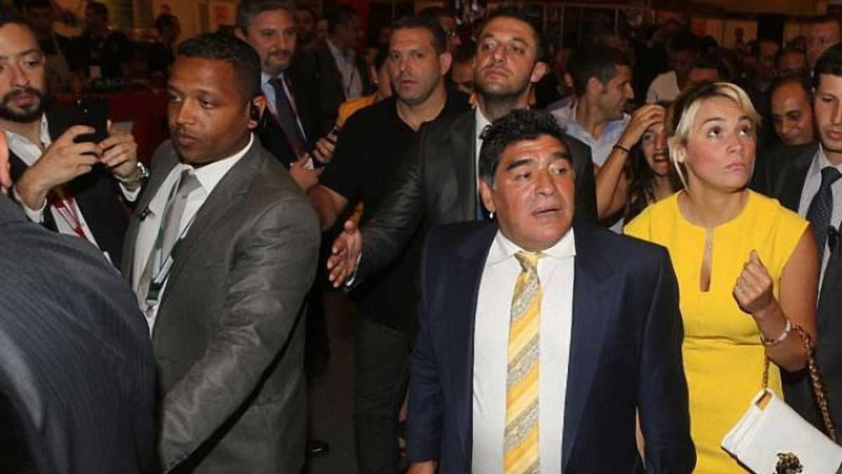 Марадона заявил о желании стать президентом ФИФА