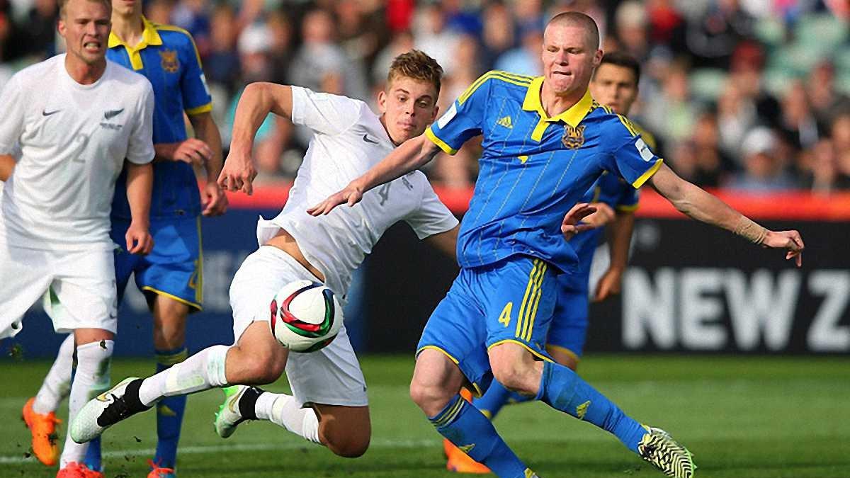 Молодіжна збірна Україна з провалу почала відбір Євро-2017