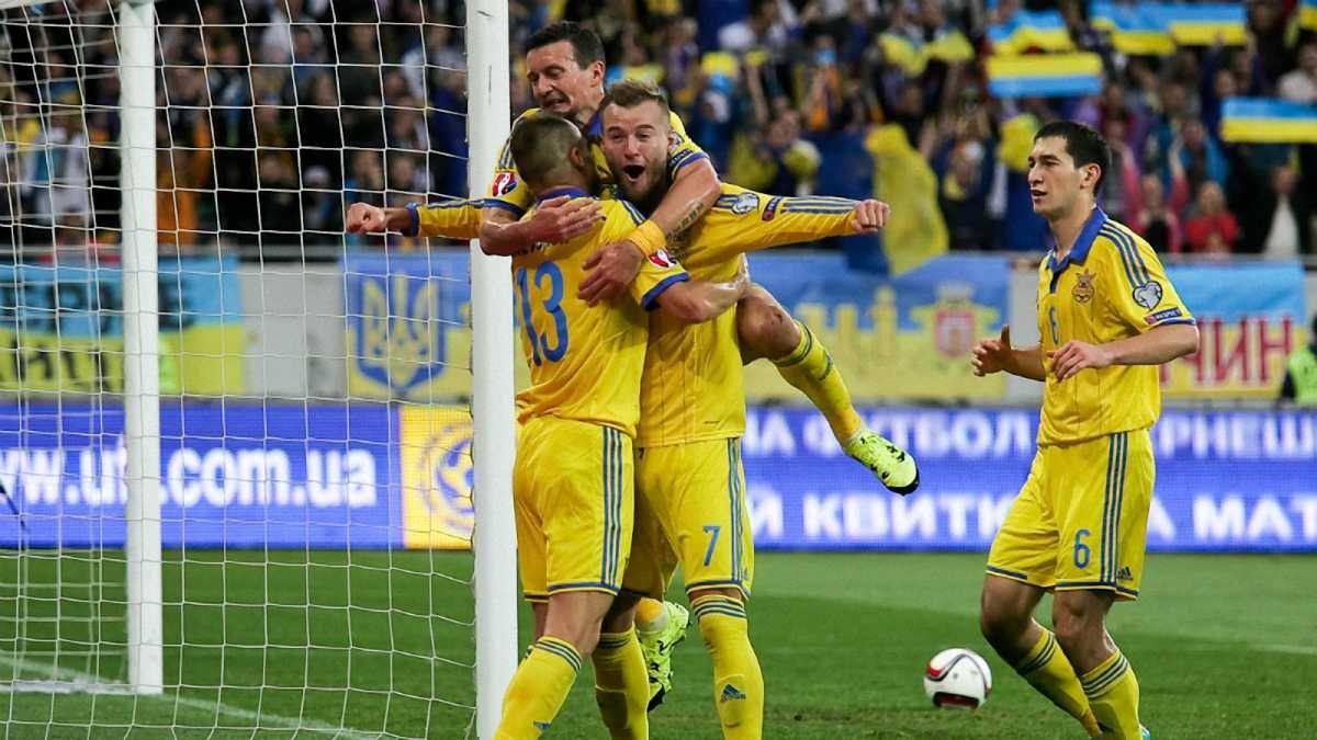 Збірна України проти Македонії та Іспанії: Де дивитись