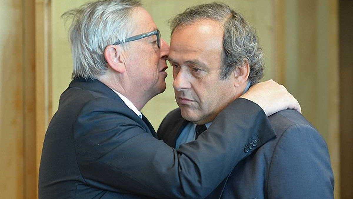 Платини отстранили от работы в УЕФА