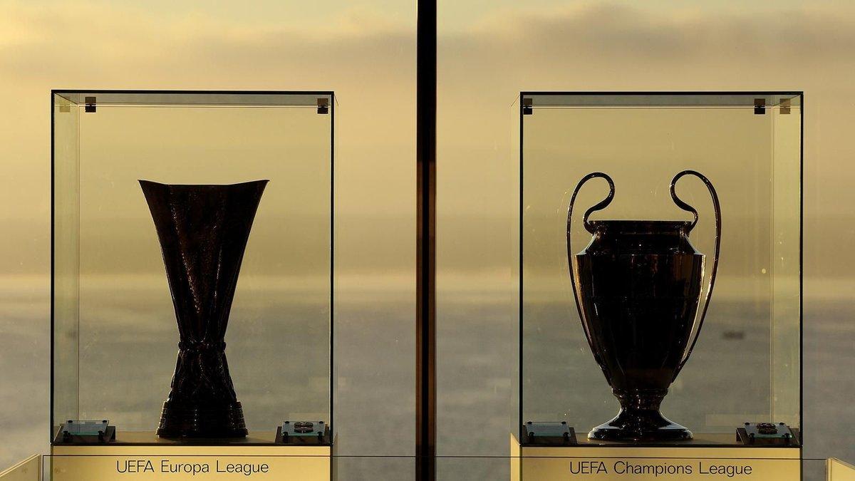 В Украину привезут трофеи Лиги чемпионов и Лиги Европы