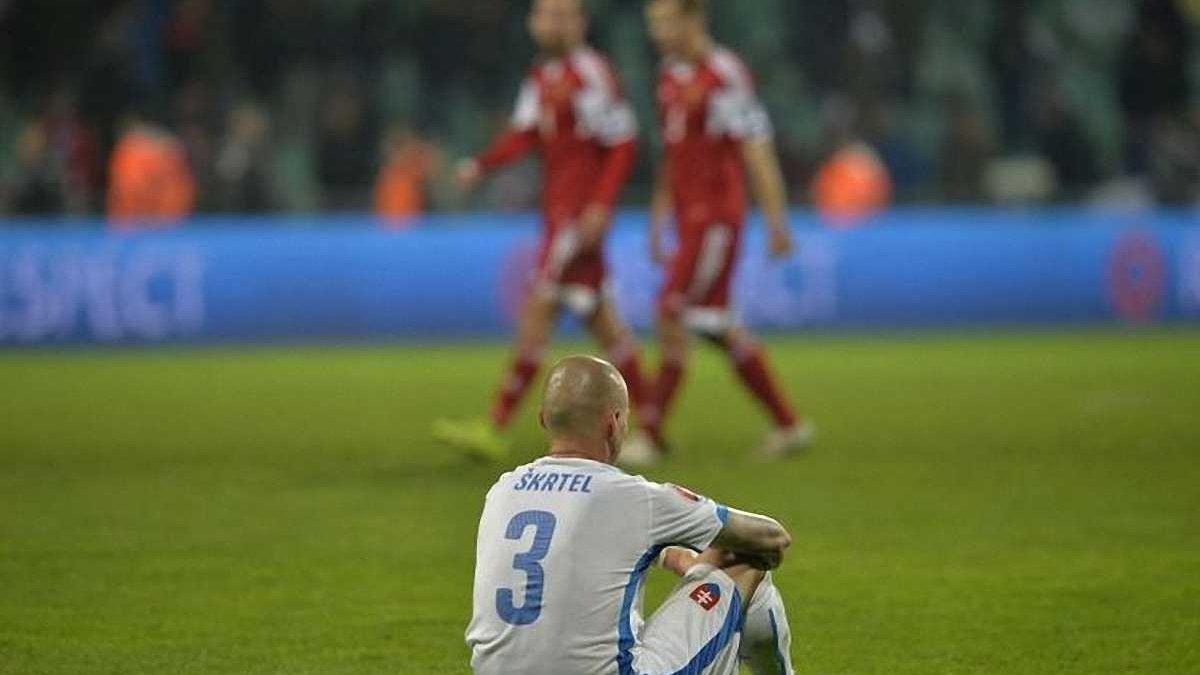 Отбор Евро-2016: как команда Хацкевича в меньшинстве шокировала словаков (ВИДЕО)