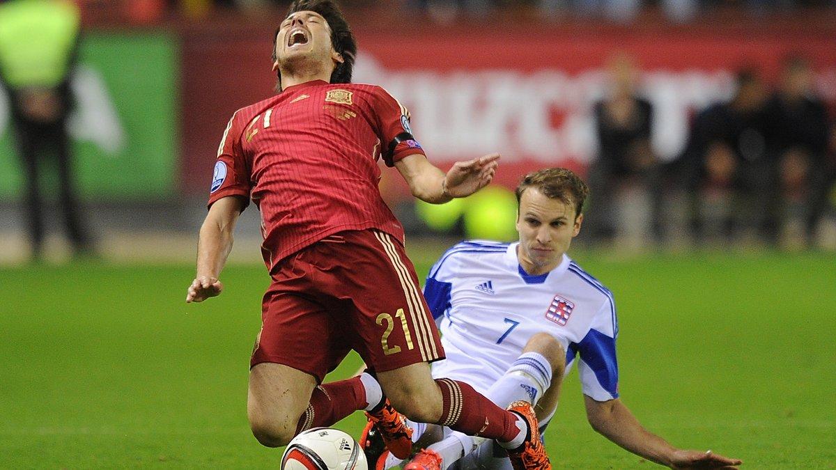 Іспанія зазнала кадрових втрат перед грою з Україною