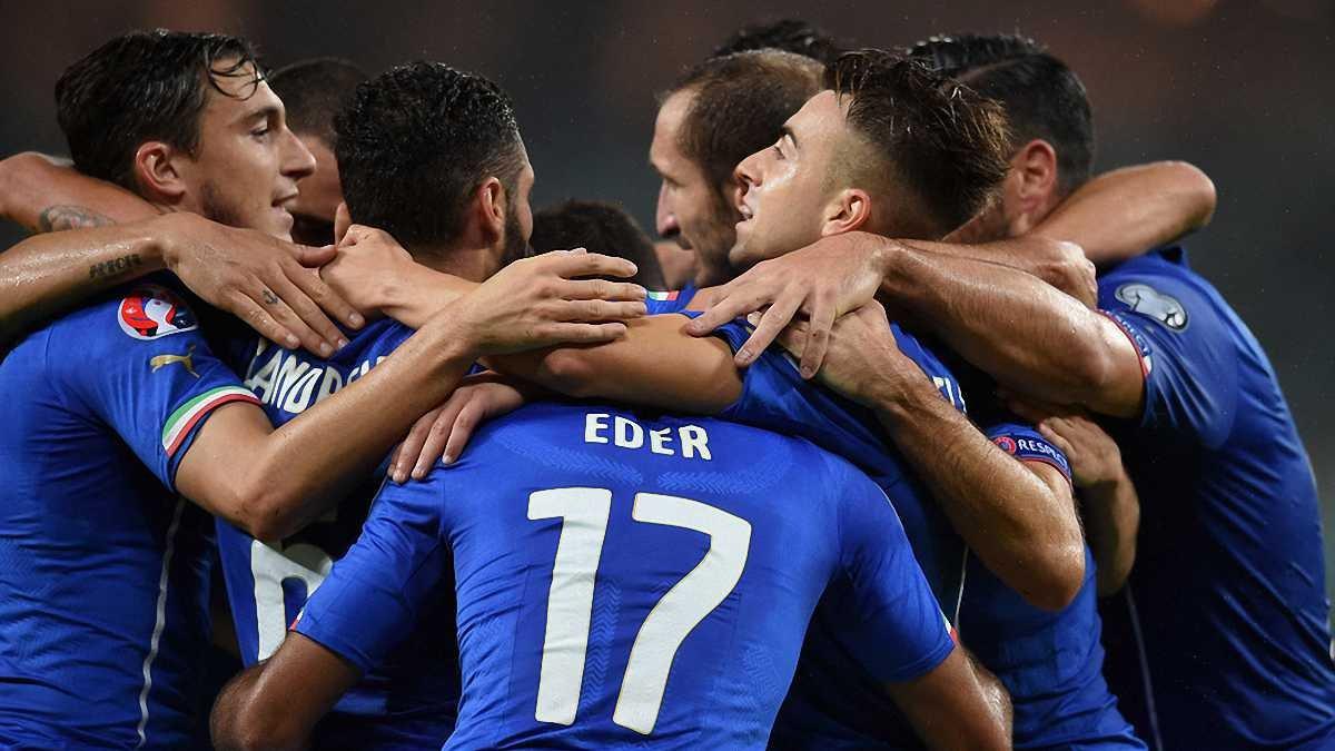 Отбор Евро-2016: Италия завоевала путевку во Францию, Латвия феерила в Исландии