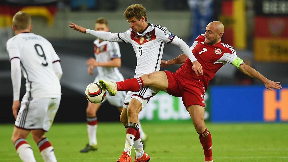 Німеччина - Грузія - 2:1. Відео голів і огляд матчу