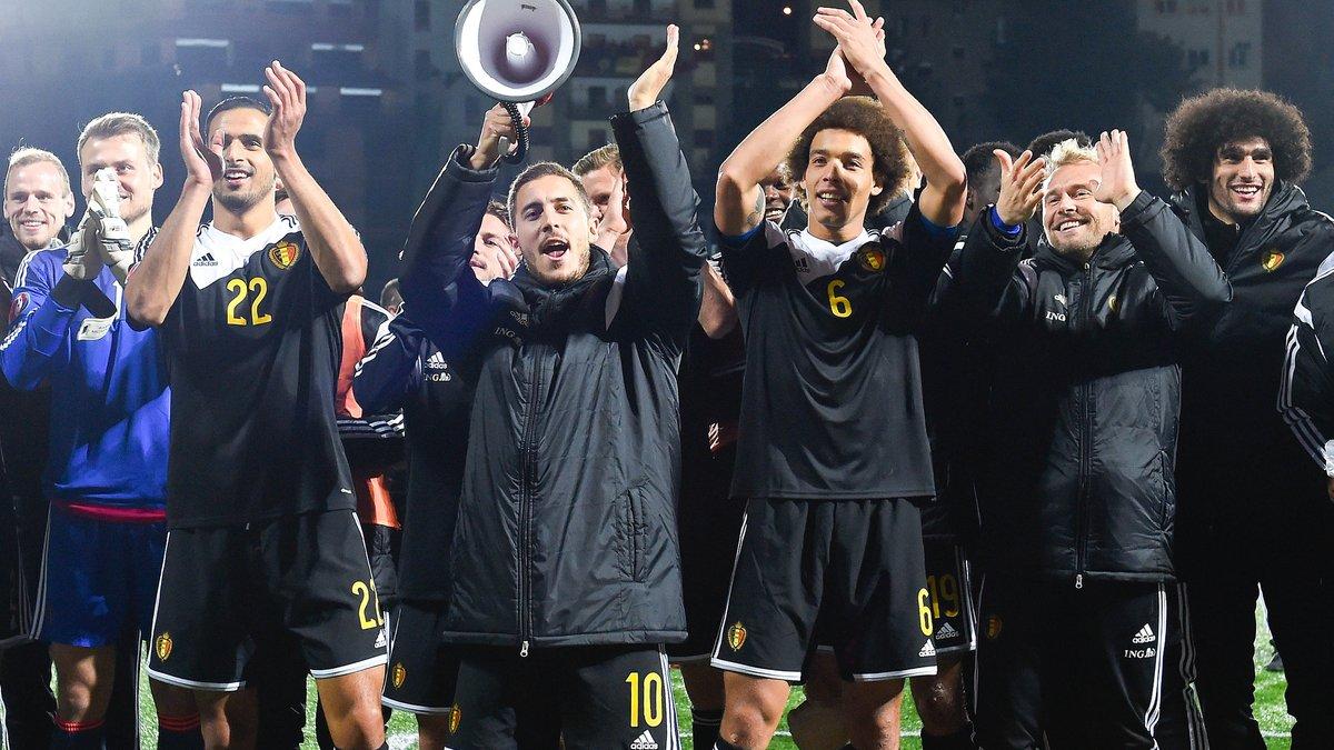 Бельгия впервые в истории может возглавить рейтинг ФИФА