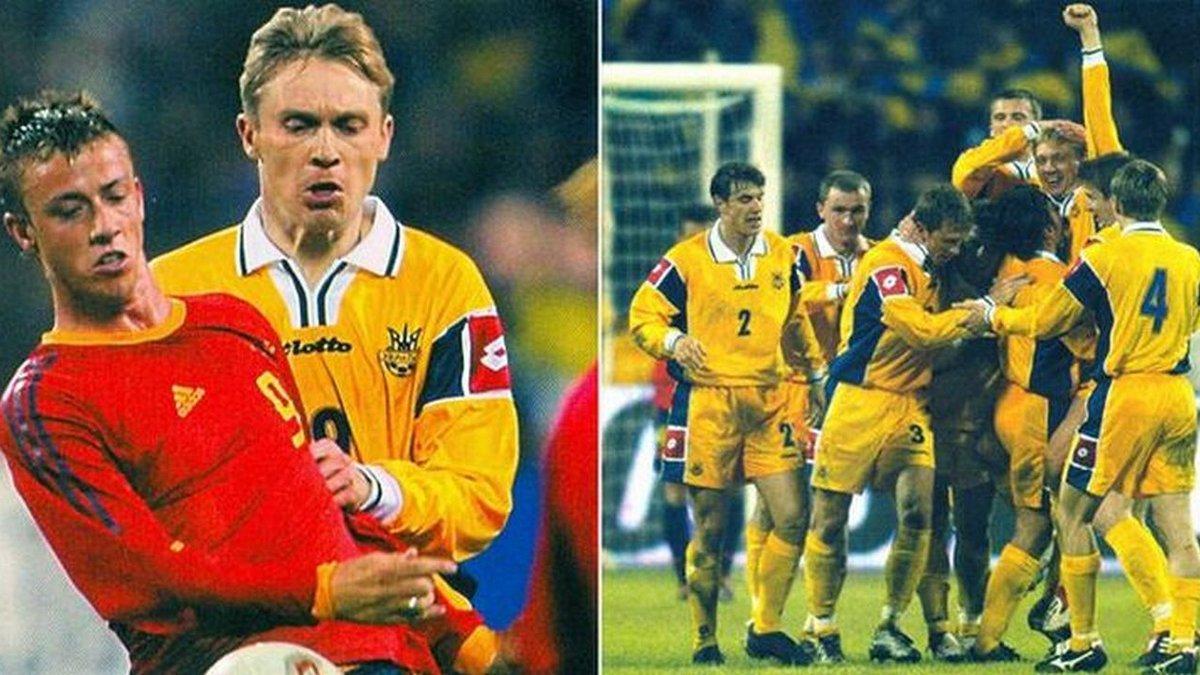 Сборная по футболу украина испания 2004