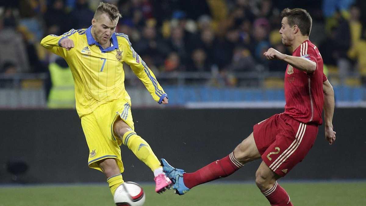Украина в феерическом матче уступила Испании и сыграет в плей-офф Евро-2016