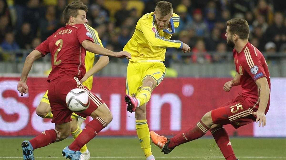 Украина узнает соперника в плей-офф отбора Евро-2016 18 октября