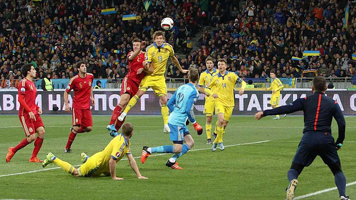 Испания в матче с Украиной установила исторические рекорды
