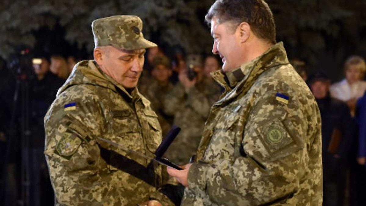 Порошенко подякував Павелку за квартири для воїнів АТО