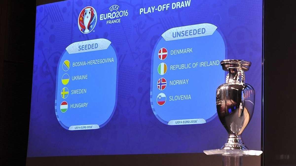 Визначилися усі пари плей-офф відбору до Євро-2016