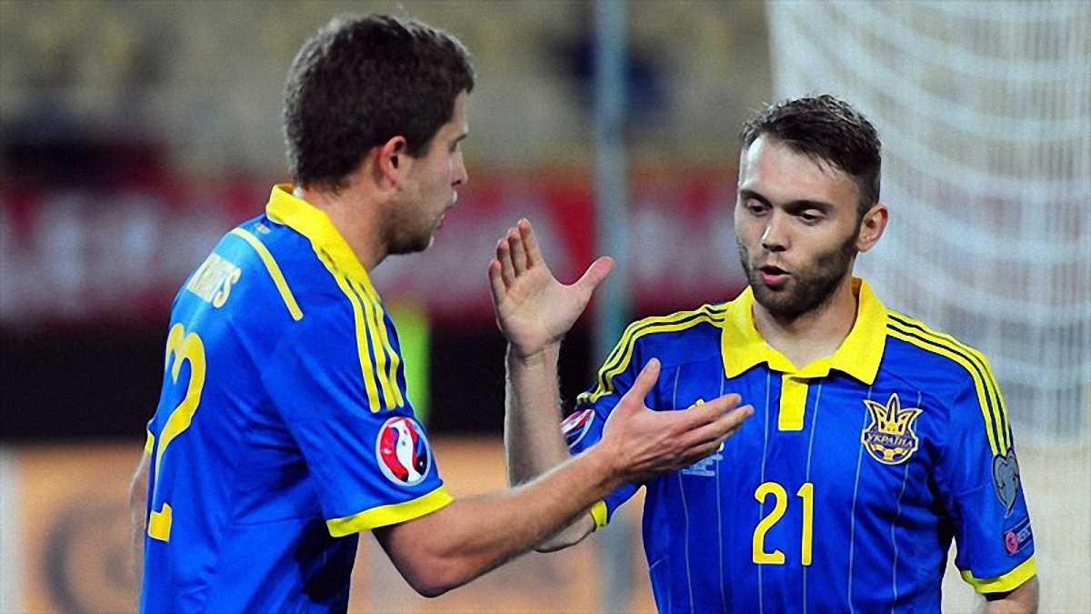 Сборная Украины сыграет против Словении в плей-офф отбора Евро-2016