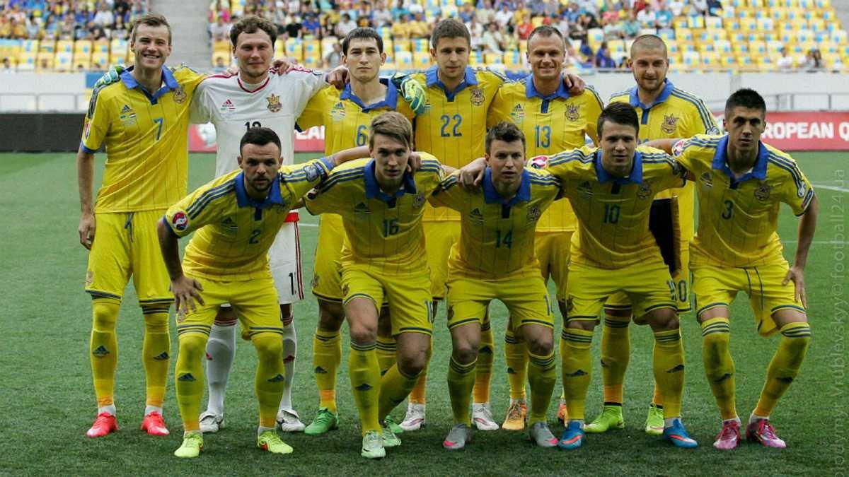 Определились дата и время матчей Украина против Словении в плей-офф отбора Евро-2016