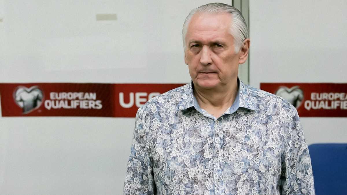 Павелко: Контракт з Фоменком закінчується 30 жовтня