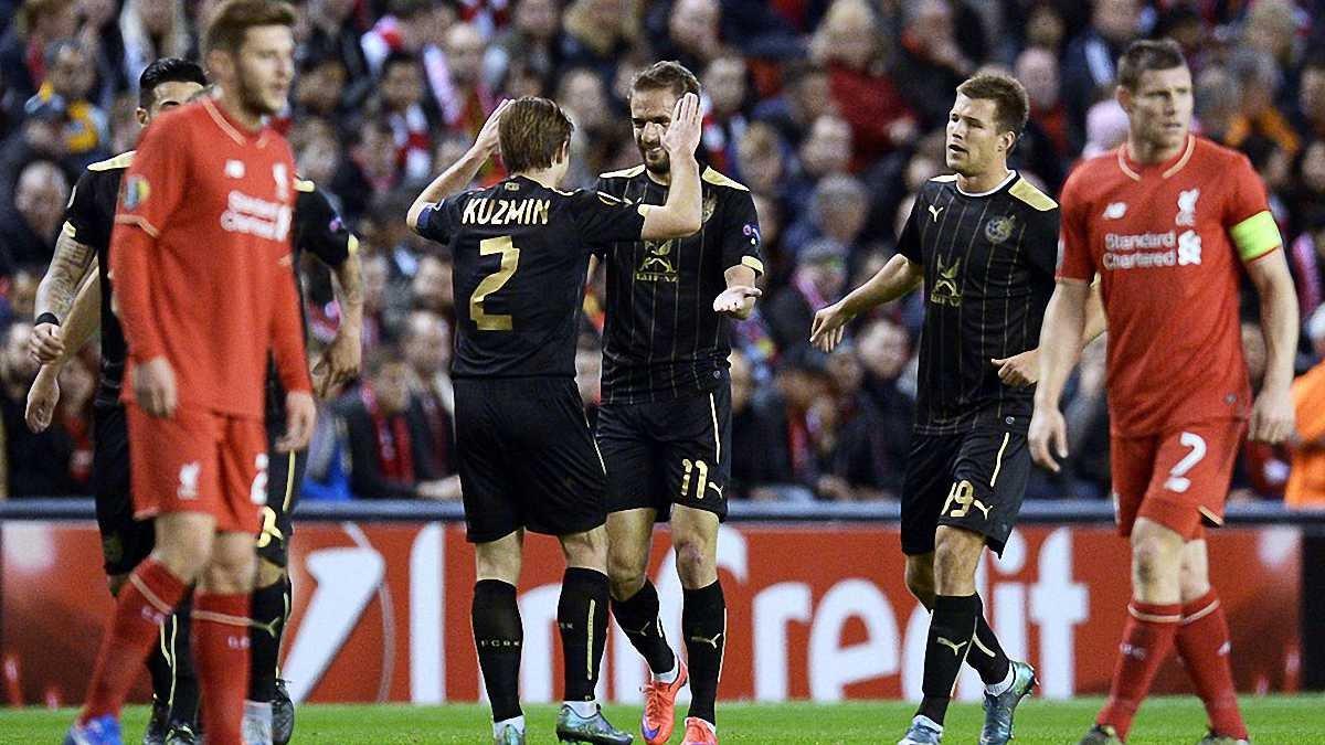 """Ліга Європи, 3 тур: Девіч забив на """"Енфілді"""", Кононов не програв у Греції"""