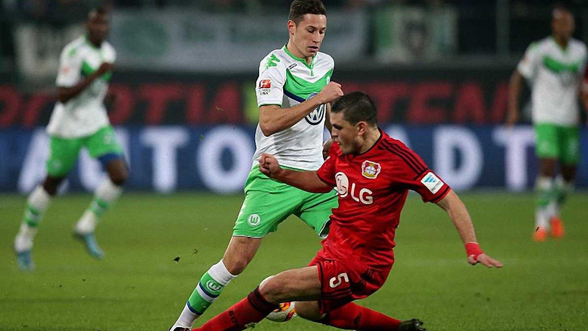 """Дракслер виходить й одразу забиває, приносячи """"Вольфсбургу"""" перемогу над """"Байєром"""""""