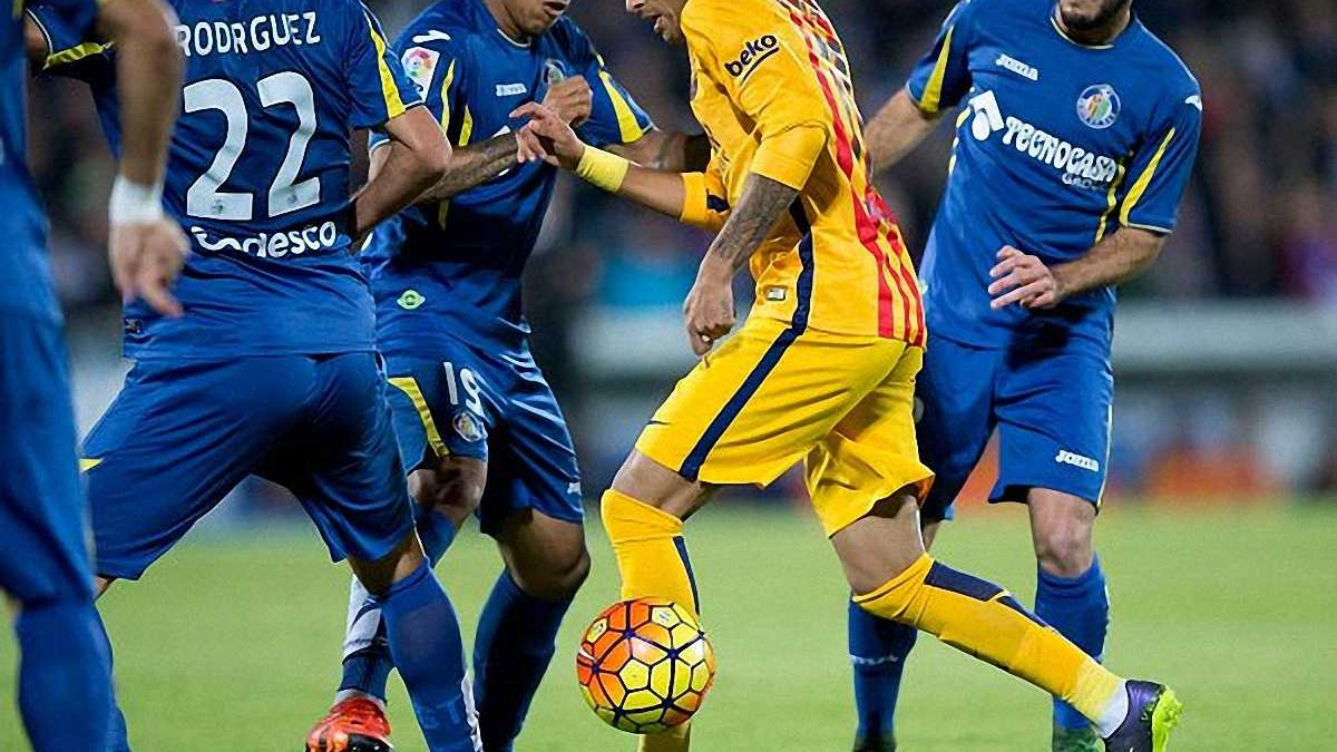 """""""Барселона"""" взяла очки у передмісті Мадриду"""