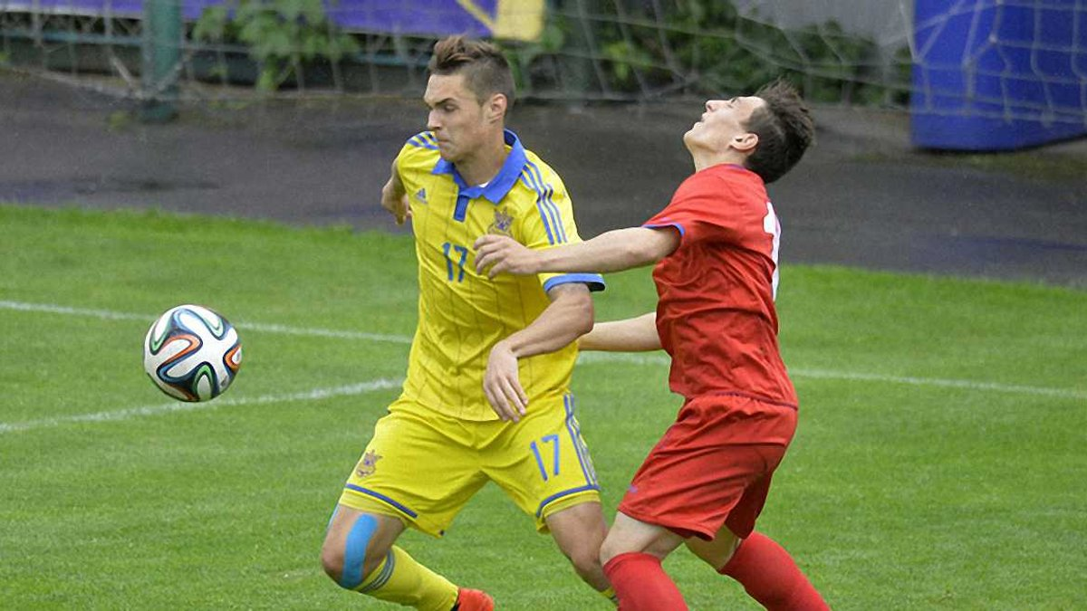 Збірна України U-19 розбила Азербайджан у кваліфікації до Євро-2016