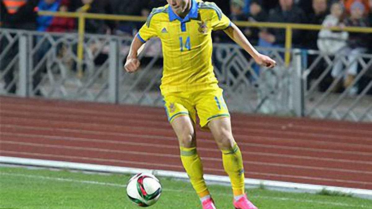Петряк тричі поспіль став кращим молодим футболістом України U-21