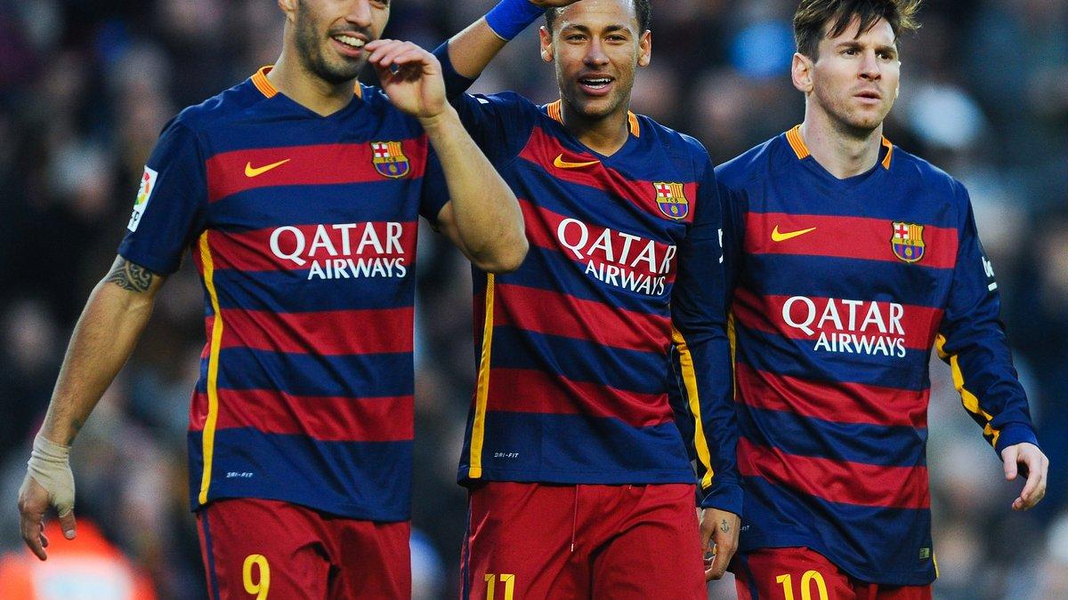 """Суарес: Не представляю, чтобы Месси перешел из """"Барселоны"""""""