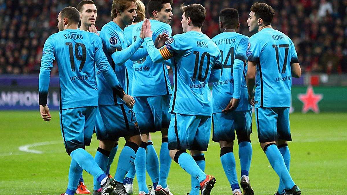 """""""Барселона"""" гратиме у фіолетовій формі (ФОТО)"""