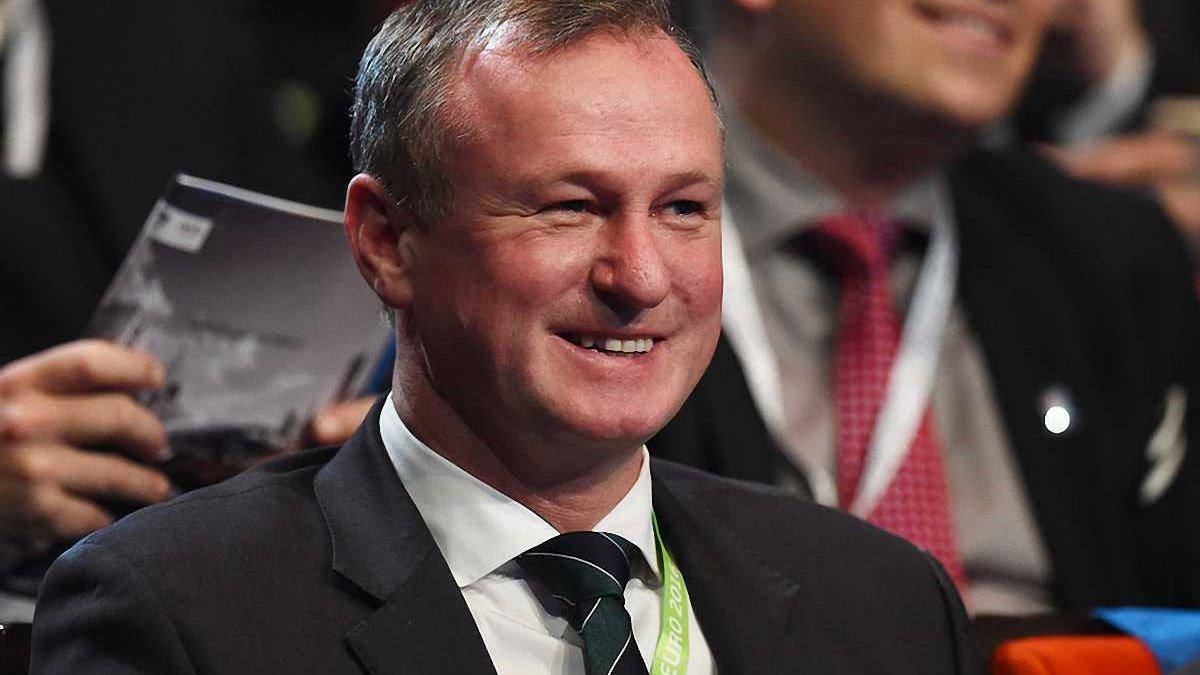 О'Ніл вважає, що з Україною на Євро-2016 Північній Ірландії пощастило
