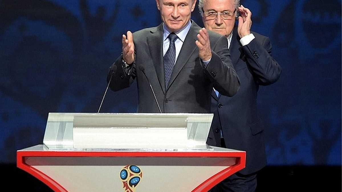Путін: Така шанована людина, як Блаттер, заслуговує на Нобелівську премію миру