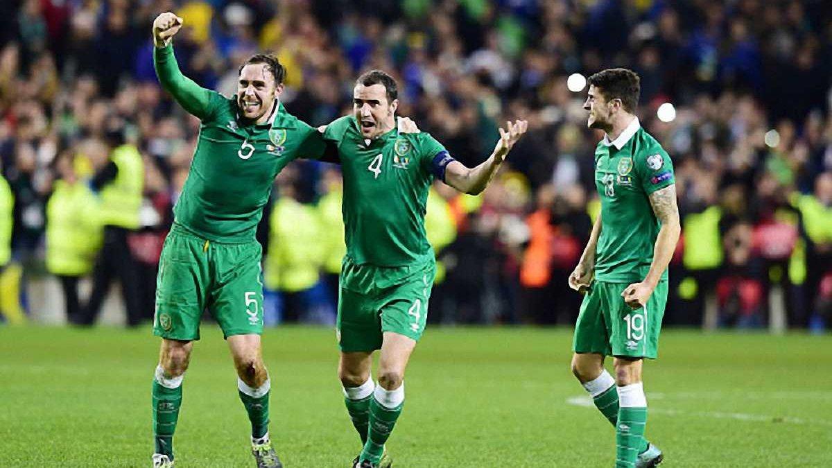 Ірландія базуватиметься у Версалі під час Євро-2016