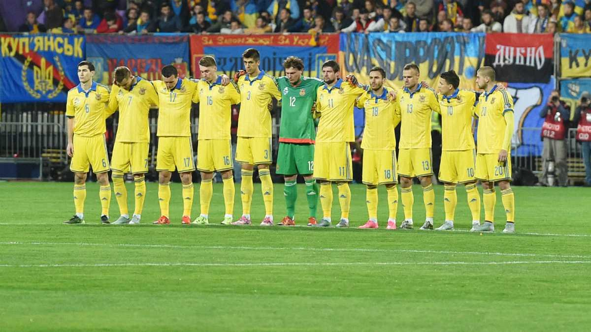 Болельщики выбрали песню сборной Украины на Евро-2016