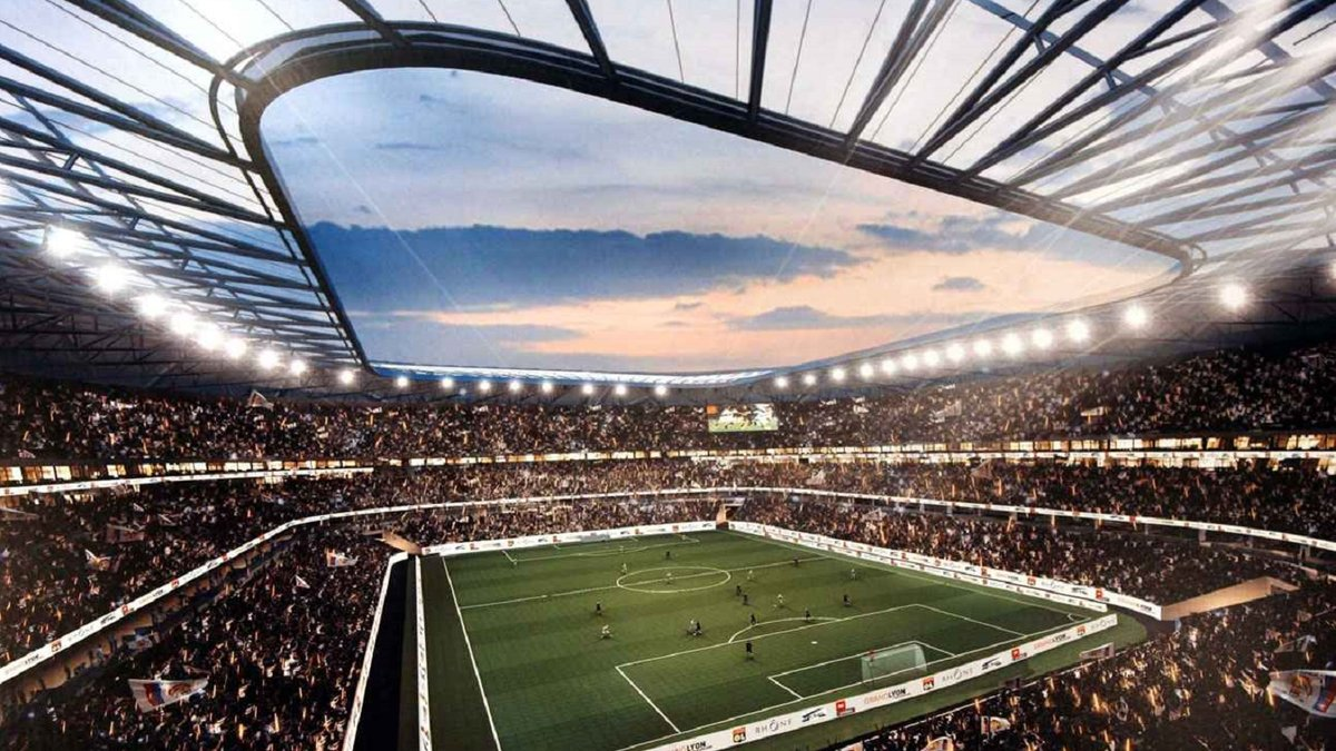 Лион. О городе и стадионе для сборной Украины на Евро-2016