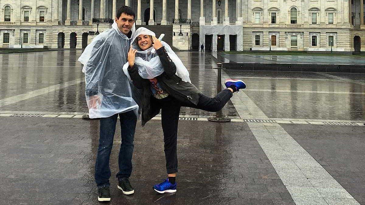 Кравченко відвідав матч НБА у Вашингтоні (ФОТО)